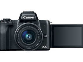Canon's First 4K Mirrorless Camera Unveiled: New EOS M50