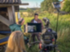 Camera DP Videographer interview and sound recordist