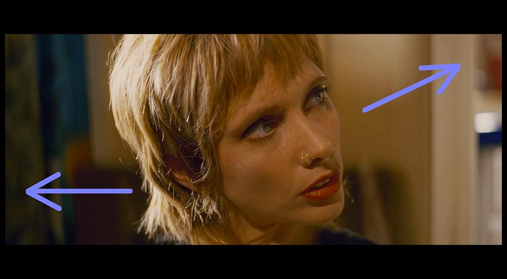 Jody looks up - Pulp Fiction