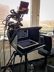 autocue, teleprompter, hire, vienna, austria, video crew, camera team, sound recordist, text, corporate, interview, testimonial