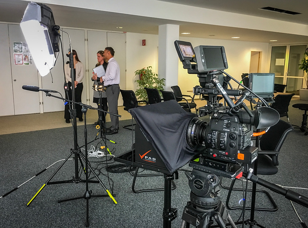 teleprompter service vienna professional
