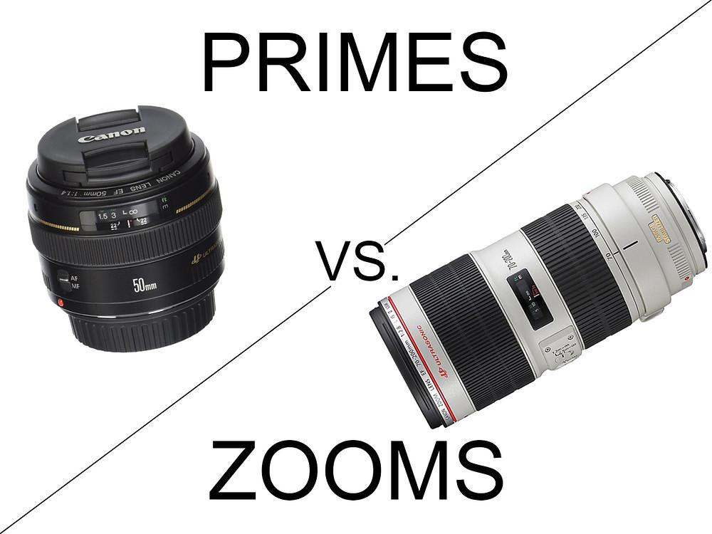 Primes vs Zooms