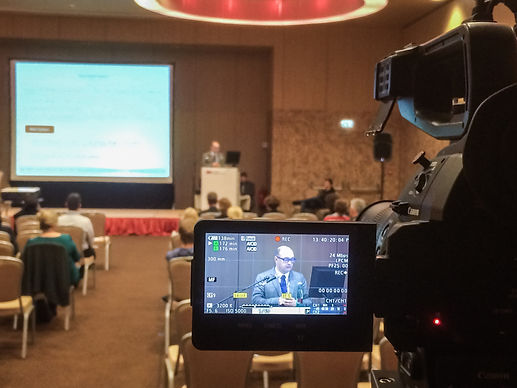 Conference filming in Vienna