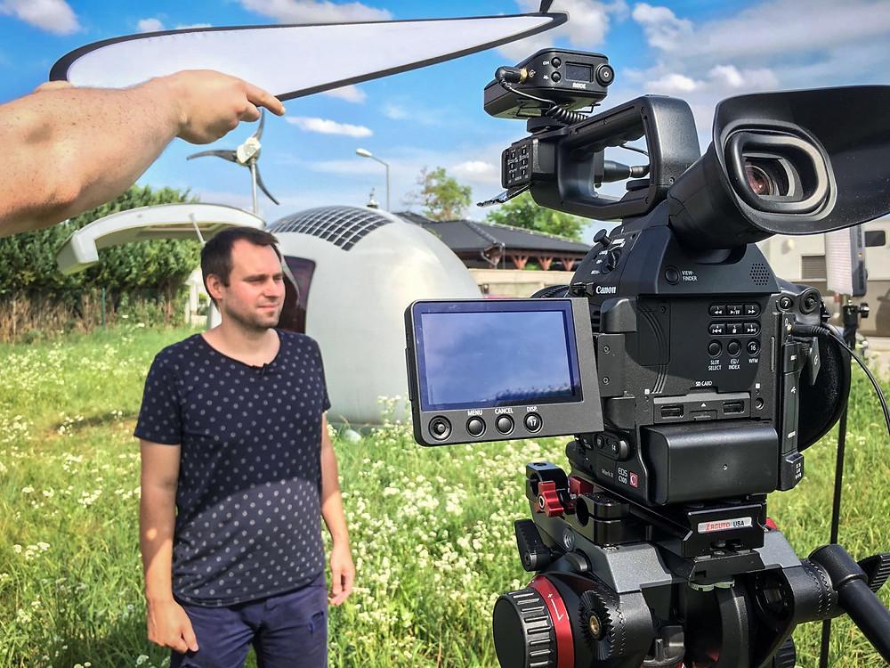 Rodelink Filmmaker Kit in action