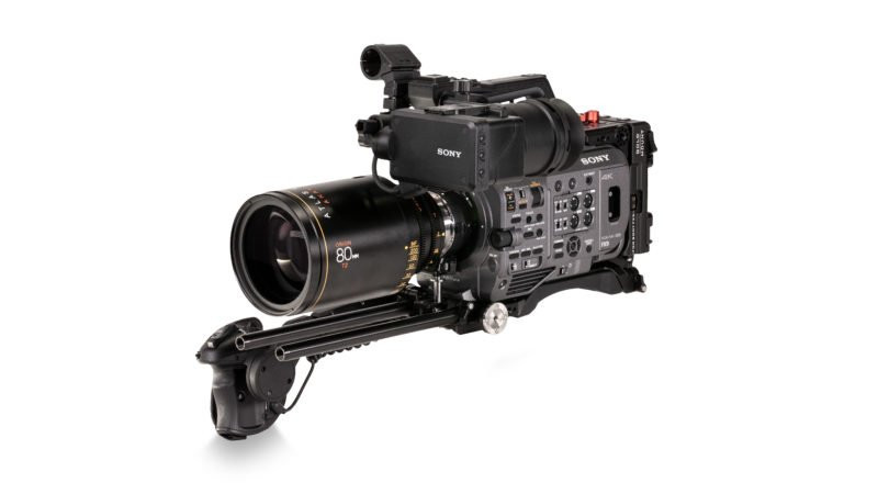 Tilta Camera Cage for Sony PXW-FX9 sideview