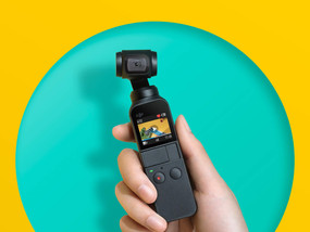 DJI Osmo Pocket – Three-Axis Stabilized Compact Camera