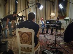 Television film crew