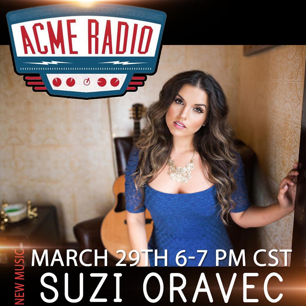 Tune in 6-7pmCST @ AcmeRadioLive.com