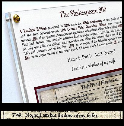 Henry 6, Part 1