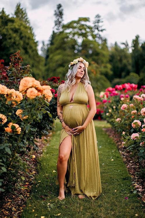 Olivia Maternity Maxi