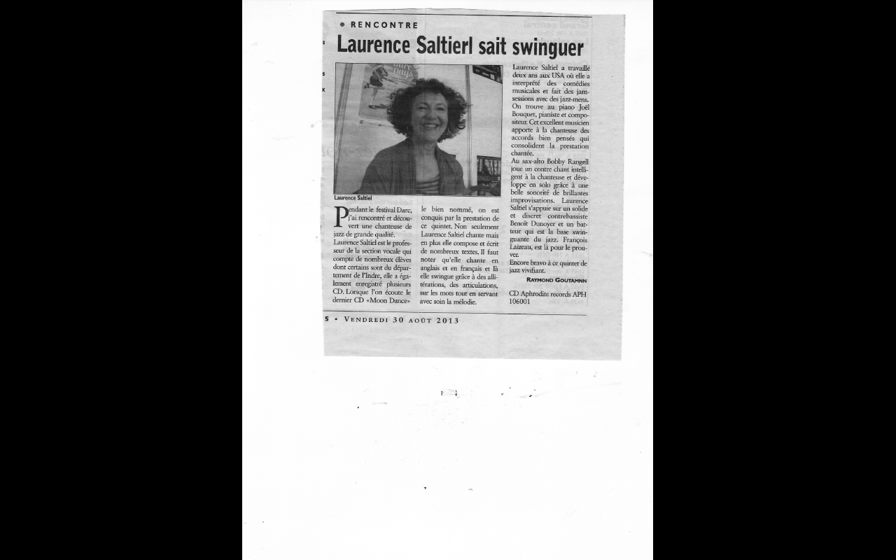 Article DARC Chateauroux 2013