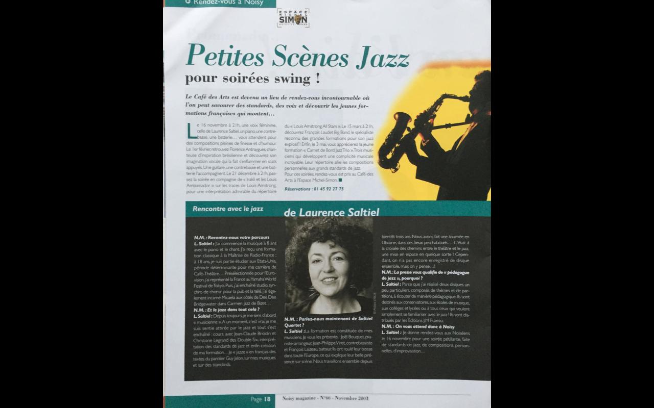NOISY-petite scene jazz 2001