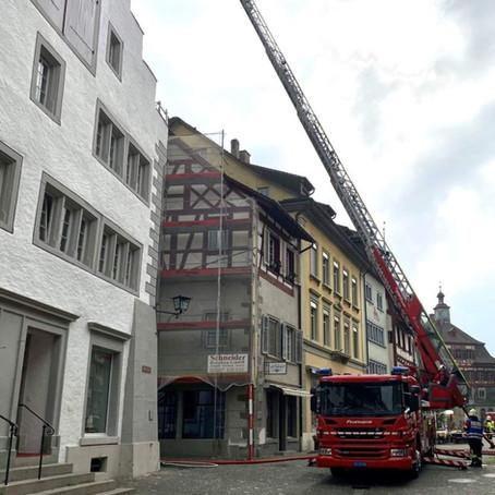 Stein am Rhein SH – Rauchentwicklung in Dachwohnung