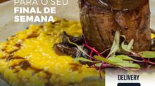 Menu Especial para o Fim de Semana com entrada e sobremesas inclusas!