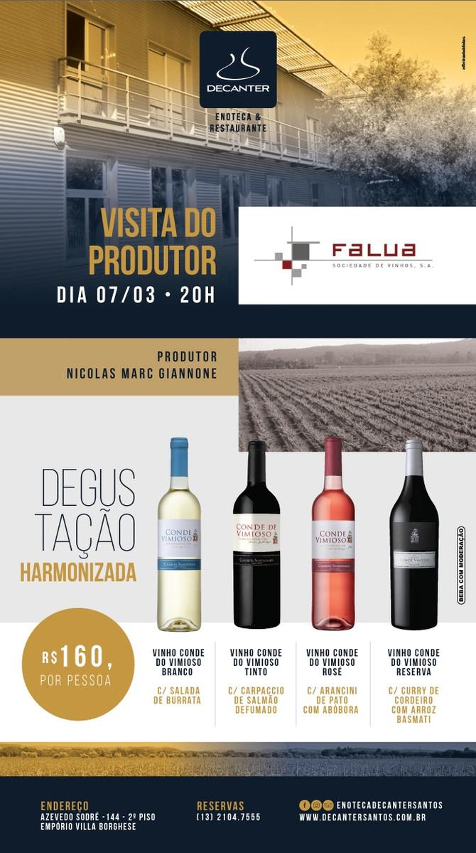 VISITA DO PRODUTOR - 07/03 - 20H