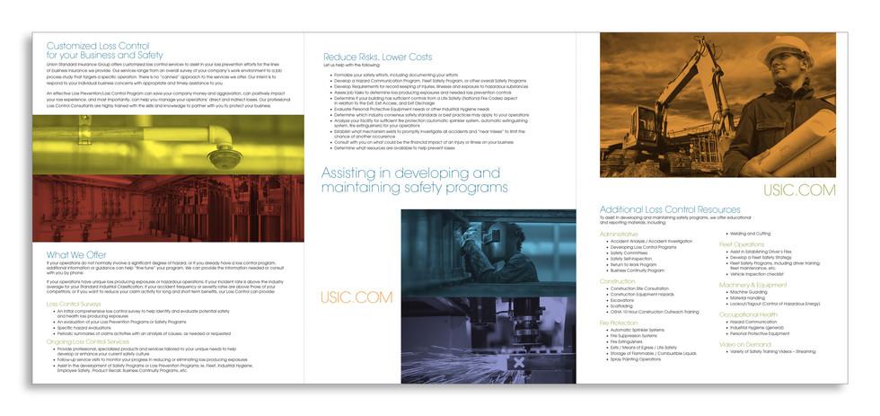 6-Panel Brochure - Inside Spread
