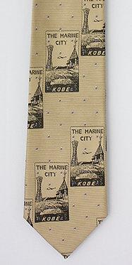 【GT005】 THE MARINE CITY KOBE(ゴールド/ブラック柄)