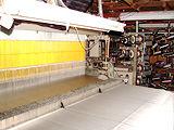 ネクタイの生地の織り、染め加工