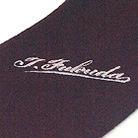 ポリエステル100%の刺繍ネクタイ