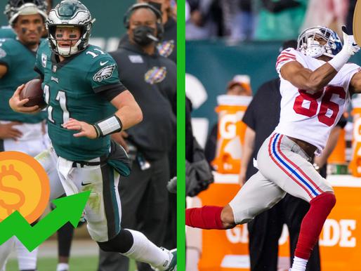 Giants @ Eagles Betting Picks/Predictions