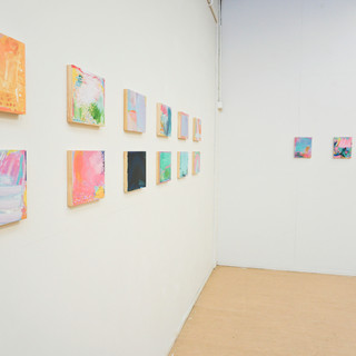 slippery slope - Installation View