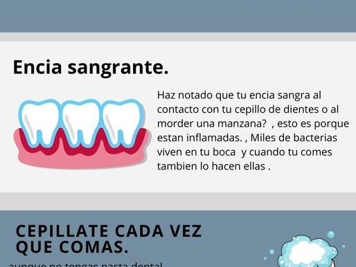 Asiste a tu dentista.