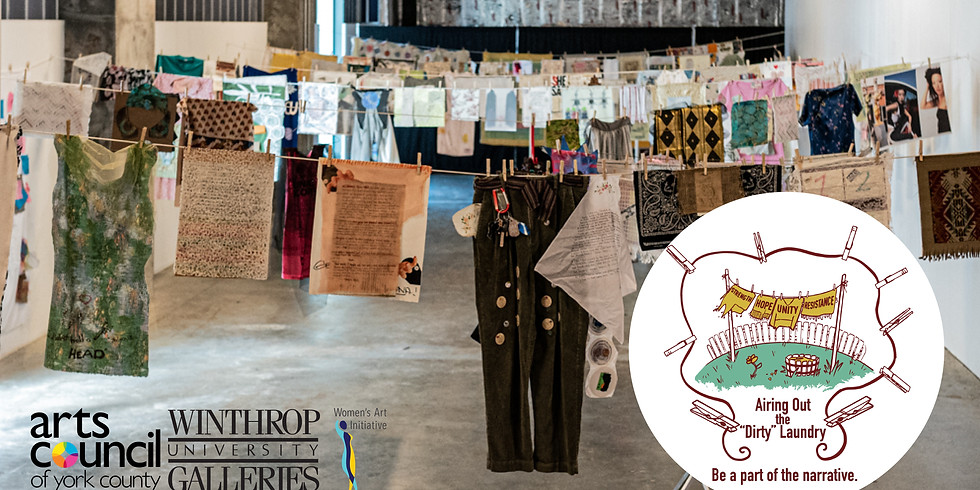 Virtual Laundry Day - In Partnership with the Arts Council of York County