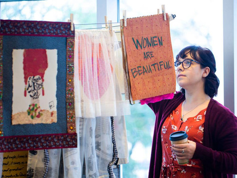 Why is this Charlotte Artist 'Airing Out the Dirty Laundry?' To tell stories.