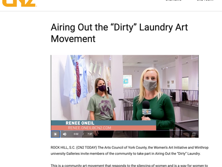Partnership with the Arts Council of York County Featured on Rock Hill's CN2 Today