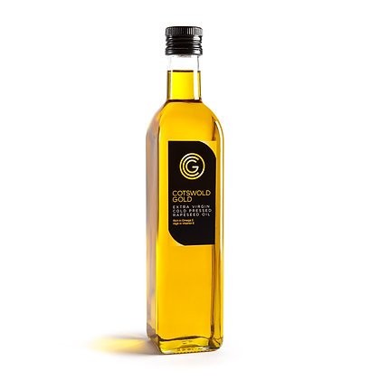 500ml COTSWOLD GOLD RAPESEED OIL