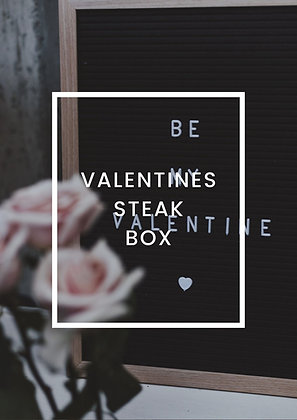 VALENTINES STEAK PACK