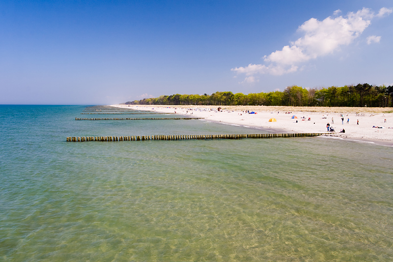 Der Strand bei Zingst