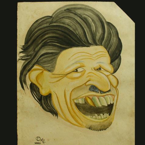 Lic. José Rodríguez Madrid 1932 Acuarela / papel 27.8 cm x 19.3 cm