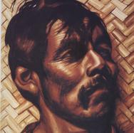 Cabeza indígena 1938 Gouache / papel 21 cm x 17 cm