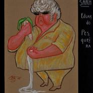 Eduardo Pesqueira 1988 Pastel / papel 41.6 cm x 29.6 cm