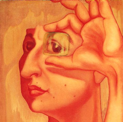 Nada es verdad ni es mentira 1969 Óleo / tela 58 cm x 48 cm