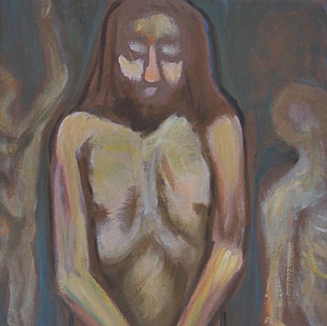 Cristo desnudo s/f Acrílico / papel 90.5 cm x 73.5 cm