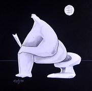 Intimidad 1994 Lápiz y recortes de papel / cartón 73.9 cm x 59.1 cm