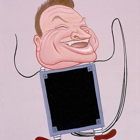 Daniel Zavala. ¡¡La industria eléctrica es nuestra!! ¡¡Bastará con una muestra!! 1966 Mixta / papel 68 cm x 59.9 cm