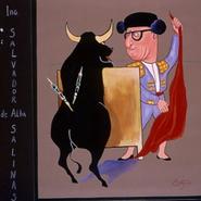 "Ing. Salvador de Alba Salinas. ""Si otro fuera mi camino, yo sería Paco Camino"" 1967 Gouache / papel 45 cm x 37.8 cm"