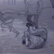Sin título 1997 Acrílico / cartón 66.5 cm x 82.2 cm