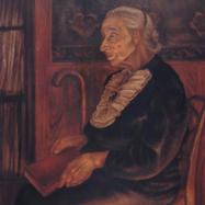 Retrato de Casimira Fuentes de Calderón 1950 Óleo / fibracel 96 cm x 61 cm