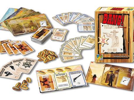 """Cowboys, Indianer und Sheriffs aufgepasst! Hier kommt das aufregende Spiel: """"Bang!"""" 🔫 🤠"""