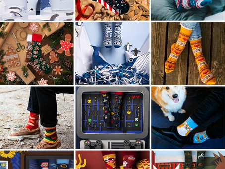 "Neu im Shop: ""Many Mornings"" Socken mit coolen Motiven 🧦"