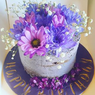 PurplePinkFlower cake.jpg