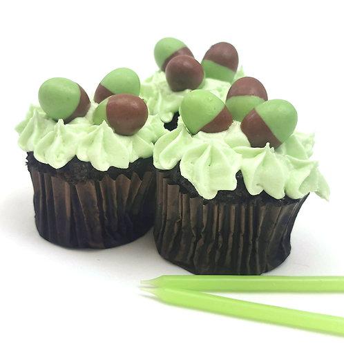Mint Choco Cupcakes