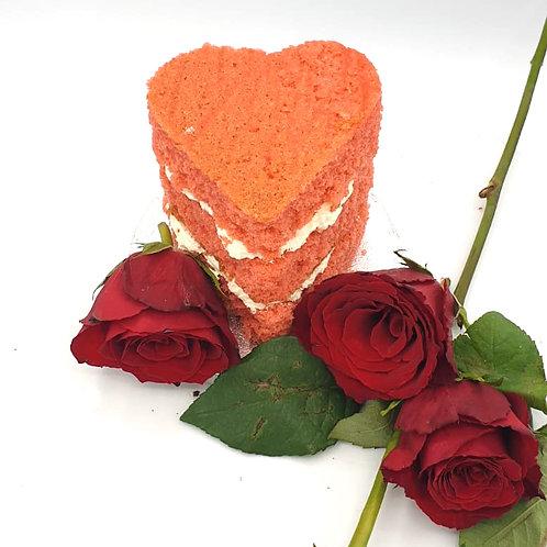 Mini Heart Sponge Cake
