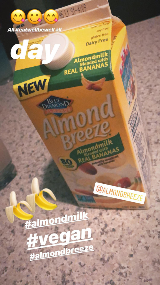 Almond Breeze Banana Almond Milk