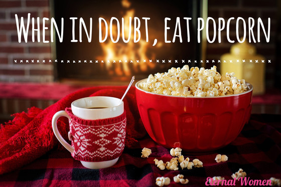 Popcorn is the Perfect Winter Snack