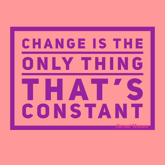 Change Is The Only Thing That's Constant
